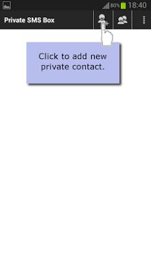 Private Message Box - Hide SMS-1