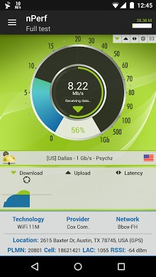 nperf - Speed Test & QoS 3G 4G WiFi-1