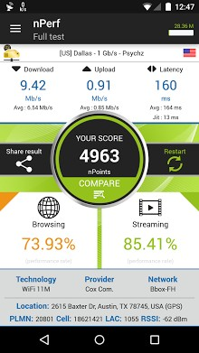 nperf - Speed Test & QoS 3G 4G WiFi-2