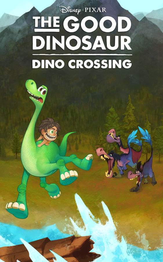 Good Dinosaur Dino Crossing Apk