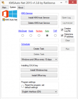 KMSAuto Net 2016 v1.7 Windows lifetime Activation Download image