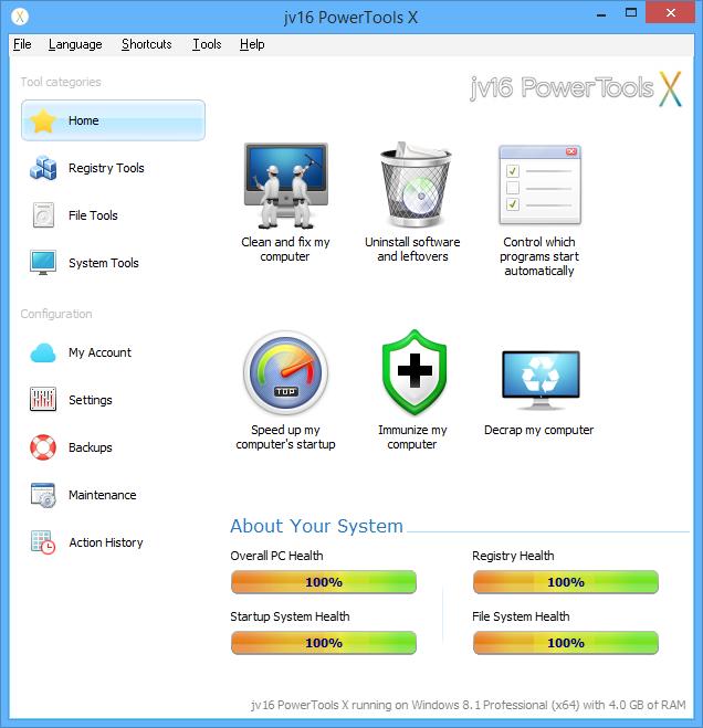 jv16 PowerTools screenshot