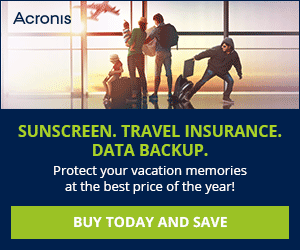 Acronis 2016 Discounts – up to 40% OFF