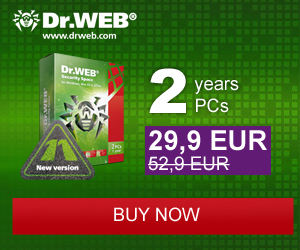 Dr.Web Security Space – 40% OFF