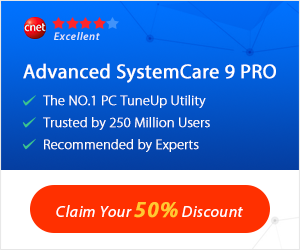 IObit Advanced SystemCare 9 – 50% OFF