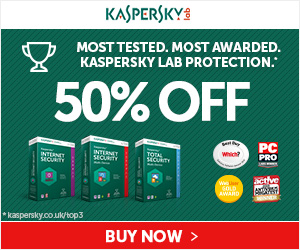 Kaspersky 2016 Sale – 50% OFF