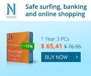 Norman Security Suite PRO – 15% OFF