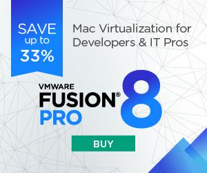 VMware Fusion 8 – 33% OFF