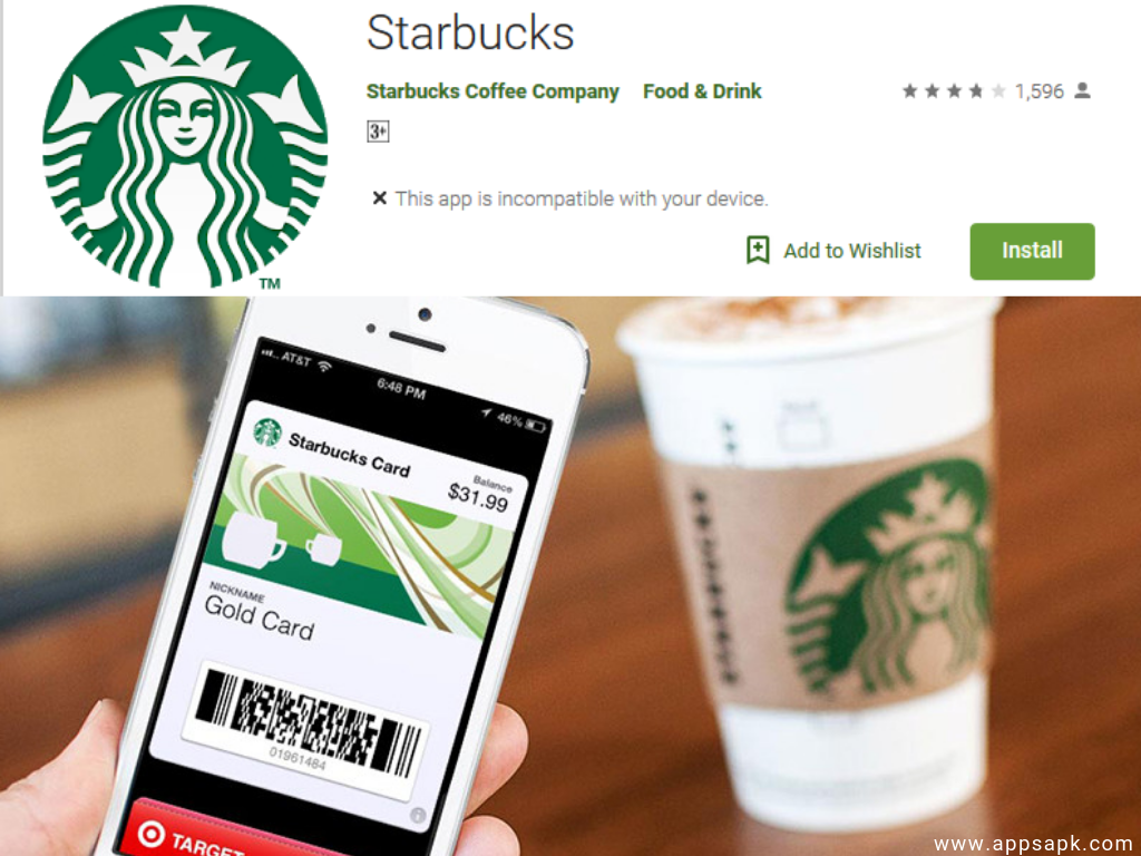 Starbucks Android Shopping App