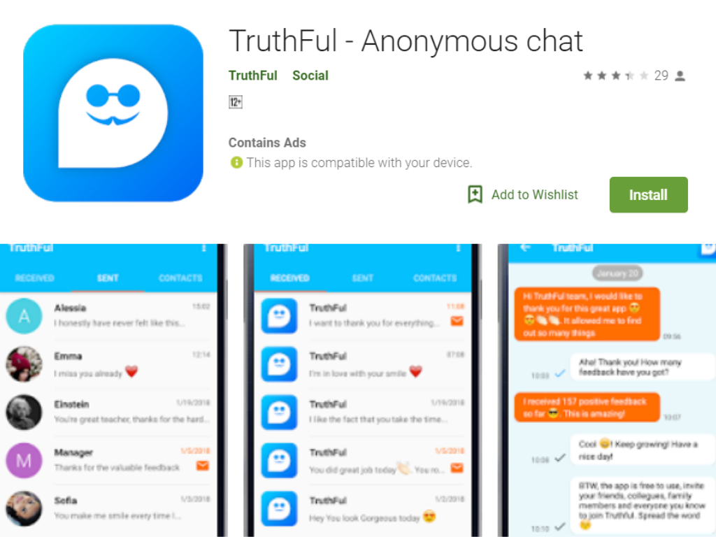TruthFul Android App