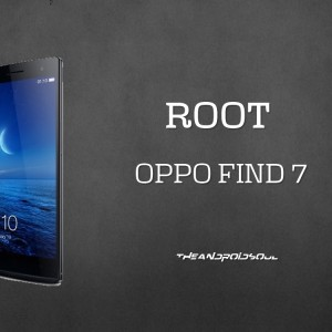cara root oppo find 7 smartphone